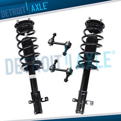 4pc Front Strut And Sway Bar Kit For 2007 2008 2009 2010 Ford Edge Fwd Lincoln Mkx