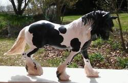 CM Breyer Custom OTHELLO - WINTERSONG Drum Horse Draft Drafter Clydesdale Shire