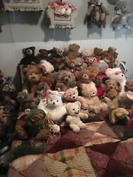 Huge one of a kind wonderful teddy bear collection. I have many name brands.