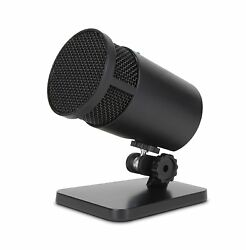 Cyber Acoustics USB Condenser Microphone for Podcasts Gaming Vocal Music and