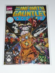 Infinity Gauntlet 1 1st Print Signed By George Perez Coa