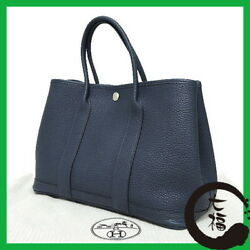 Auth HERMES Garden Party TPM Women Negonda tote bag