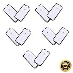 Tens Replacement Pads Electrode Self Adhesive Xl Extra Large 5 Pairs 10 Pads