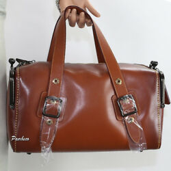 NWT Coach 1941 Glovetanned Leather Mailbox Bag 35 29103 1941 Saddle New
