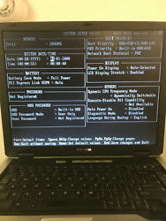 10 Toshiba Laptops Tecra A3x Used For Parts Boots To Bios
