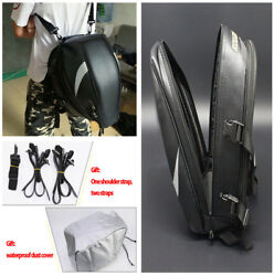 Multi-functional Oxford Cloth Motorcyle Rear Back Seat Bag Helmet Tank WCover