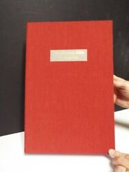 The German Bible In America - 25 Rare American Bible Leaves In German-red Cloth