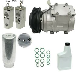 RYC Remanufactured Complete AC Compressor Kit A000