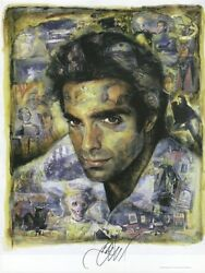 David Copperfield Autographed Lithograph The History Of Magic