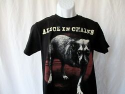 Alice In Chains Tripod Dog Album T-Shirt - Black Men's Size Small NEW