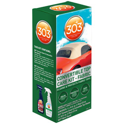 303 Products 30520 Convertible Fabric Top Cleaning And Care Kit Car Boat