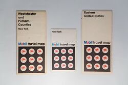 3 Vintage Maps Of Nyc Ny Westchester And Putnam Counties And The Eastern Us