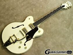 Gretsch G 6609 TG Players Edition Broadkaster Center Block Double-Cut Vintage Wh