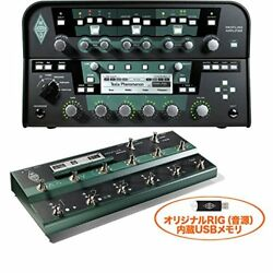 KEMPER POWER HEAD + REMOTE Profiling Amplifier + Foot Controller + Original RIG