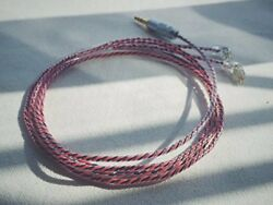 Wagnus. Earphone audio upgrade cable Re cable Meridian 3.5 MM 3 pole single-end
