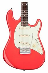 Sterling by MUSIC MAN CT50 Cutlass Fiesta Red electric guitar