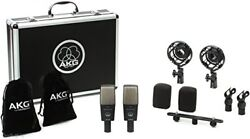 AKG condenser microphone C414 XLS stereo pair set C 414 XLS  ST [domestic regul
