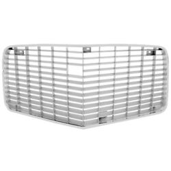 1970 - 1971 Camaro Standard Silver Grille With Trim Molding Dynacorn New - 1064h