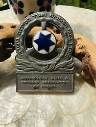 Automobile Club And Touring Association Of Israel Car Badge