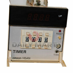 Omron Automation And Safety H5an-4dm Time Delay Relay Quartz Timer Digital Led