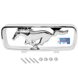 1966 Mustang Standard Grille Emblem Corral And Pony Horse Ornament - M3627a
