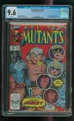 Cgc 9.6 New Mutants 87 Marvel 3/1990 1st Cable Stryfe Mutant Liberation Front C