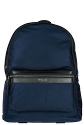 MICHAEL KORS MEN'S NYLON RUCKSACK BACKPACK TRAVEL NEW BLUE 841