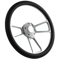 New World Motoring 65-70 Ford Falcon, Comet Steering Wheel Kit 14 Polished M...