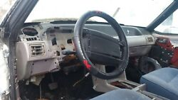 Steering Wheel Leather Wrapped 1979-93 Mustang Gt Ford 5.0 87 88 89 90 1987 1993