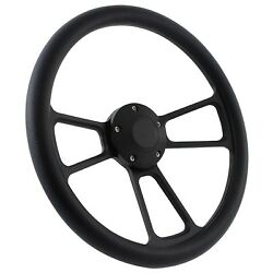 58-63.5 All Ford Excl. T-bird, Falcon, Comet Steering Wheel Kit 14 Black M...