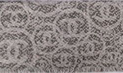 Chanel Scarf Shawl Poncho Throw Wrap 100% Cashmere Signature Reversible 72 x 200