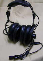 Astrocom Aviation Helicopter Headphones Electrovoice M-87/aic Mic 10987e 103558