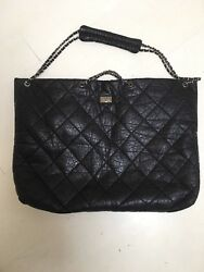 Chanel Quilted Extra Large Travel Bag