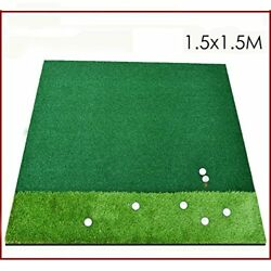 Golf hit pad Driving range dedicated 2 color Grass 1.5 1.5 m super practical