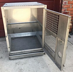 Stainless Steel Veterinary Travel Game Turkey Cat Dog Pet Cage Acme Free Ship