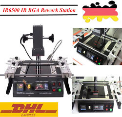 IR BGA SMD Welding Rework Station Soldering Infrared Heating Machine LED IR6500