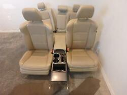 2013-2017 Acura Rdx Tan Leather Front And Rear Seats W/console Driver Power Heated