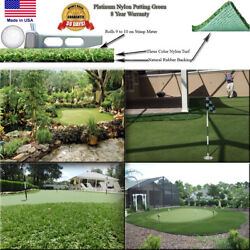 15and039 Indoor Outdoor Pro Putt Artificial Syntheticturf Putting Golf Green Grass
