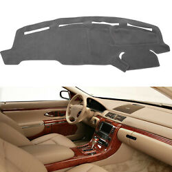 Dash Cover Mat Dashboard Cover For Ford F250 F350 F450 1999-2004 Truck Black