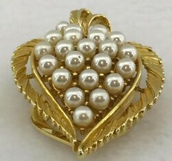 NEW Women's Fashion Brooch Gold and Pearl *FREE AU SHIPPING*