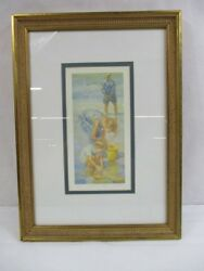 Lucelle Raad Grampa's Kids Signed Lithograph - 42/950 - Authenticity Included