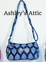 NEW Vera Bradley CALYPSO Navy Amy Little Crossbody Girl Purse Bag Frannie Kids
