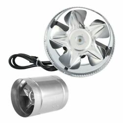 12 Inch Inline Ventilating Exhaust Fan - Hydroponic Ventilation Duct Blower