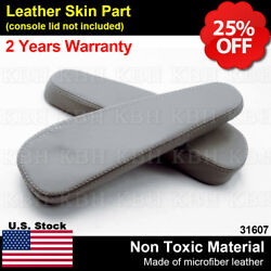 Fits 00-06 Chevy Tahoe Suburban Escalade Seat Armrest Leather Cover Pewter Gray