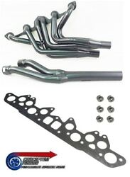 6 Branch 6-2-1 Tubular Uprated Exhaust Manifold Headers -for Datsun S30 240z L24