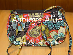 NEW Vera Bradley FLOWER SHOWER Frannie Amy Little Crossbody Kids Girl Purse Bag