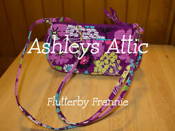 NEW Vera Bradley FLUTTERBY Frannie Amy Little Crossbody Kids Girl Purse Bag