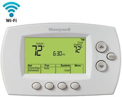 Honeywell Programmable Wi-fi Thermostat Control Remotely Ios Android Energy Star