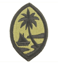 Vanguard Army Patch Guam National Guard - Embroidered On Ocp