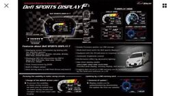 Defi Defi Sports Display F Dsdf Head Unit Only Df15901 Now In Stock